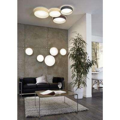 Palomaro Black LED Ceiling Light