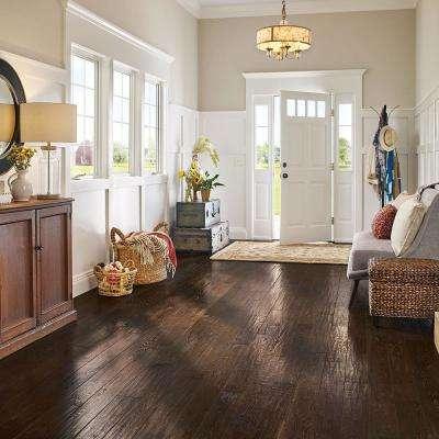 Revolutionary Rustics Oak Brown Harmony 3/4 in. T x 5 in. W x Varying L Solid Hardwood Flooring (23.5 sq.ft./case)