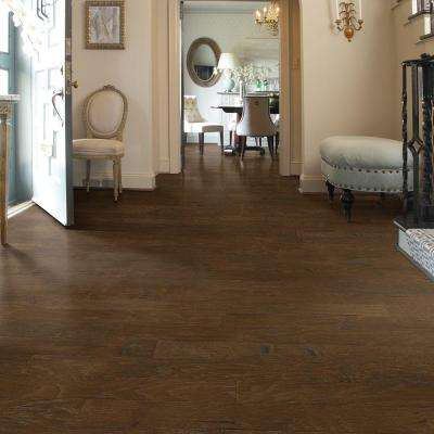 Western Hickory Saddle 3/8 in. T x 5 in. W x Random Length Click Engineered Hardwood Flooring (29.49 sq. ft. / case)