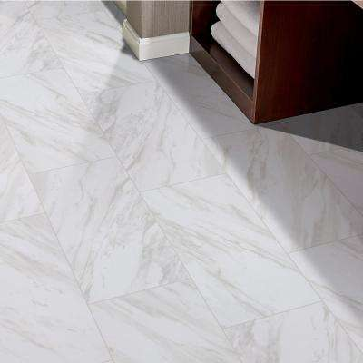 Kolasus White 12 in. x 24 in. Polished Porcelain Floor and Wall Tile (16 sq. ft. /case)
