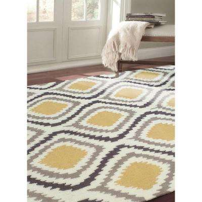 Matthieu Sunflower 8 ft. x 10 ft. Area Rug
