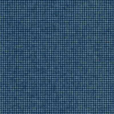 56 sq. ft. Blue Oil in Water Check Wallpaper
