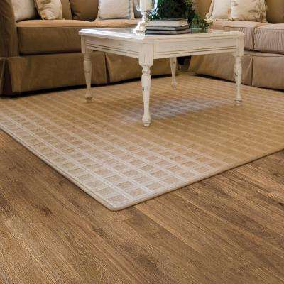 Embossed Oak Boysen 12 mm Thick x 6.34 in. Wide x 47.72 in. Length Laminate Flooring (16.80 sq. ft. / case)