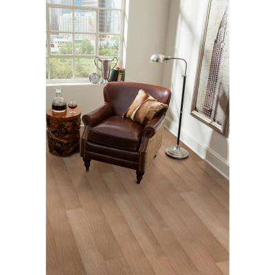 Take Home Sample - Butterscotch Engineered Waterproof Hardwood Flooring - 5 in. Width x 6 in. Length