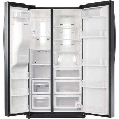 In Door Ice Maker Side By Side Refrigerators