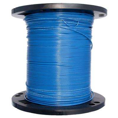 2500 ft. 14 Blue Solid THHN Wire