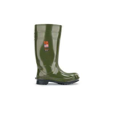 Unisex Guardian IV PVC Slip-Resistant Work Boots - Steel Toe
