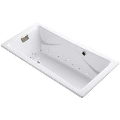 Tea-for-Two 6 ft. Air Bath Tub in White