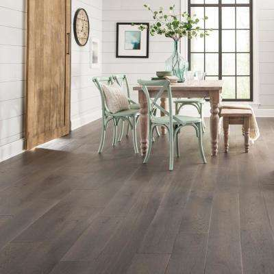 Castlebury Scarborough Grey Eurosawn Oak 3/4 in. T x 5 in. W x Random Length Solid Hardwood Flooring (20 sq. ft./case)
