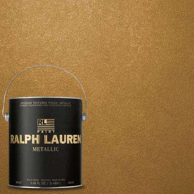 1-gal. Burnished Gold Metallic Specialty Finish Interior Paint