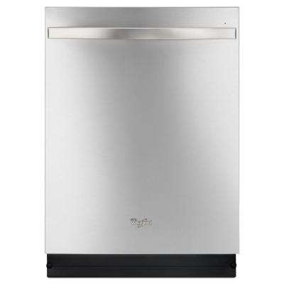 Top Control Dishwasher in Monochromatic Stainless Steel with Stainless Steel Tub, Sensor Cycle, 48 dBA