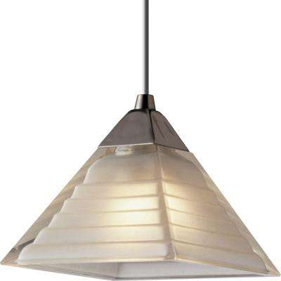 Illuma-Flex 1-Light Brushed Nickel Pendant