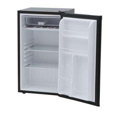 3 cu. ft. Eraser Board Mini Refrigerator in Black