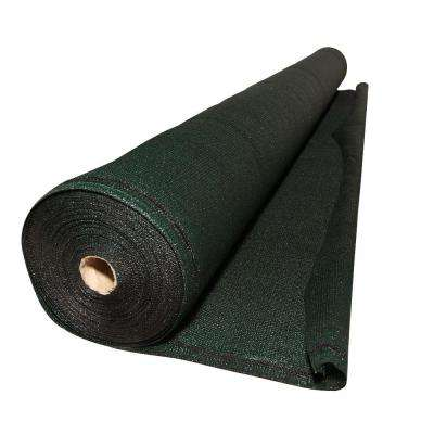 ValueVeil 5 ft. x 50 ft. Green Privacy Fence Screen Netting with Reinforced Grommets