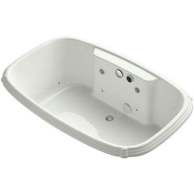 Portrait 5.5 ft. Walk-In Whirlpool and Air Bath Tub in Dune