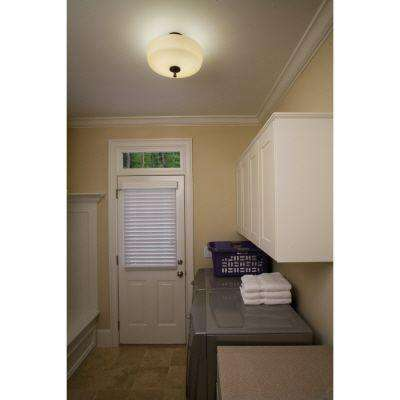 Ferros 1-Light Antique Bronze Ceiling Downlight