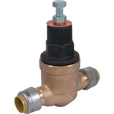 1/2 in. Bronze EB-45 Direct Push-to-Connect Pressure Regulating Valve