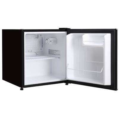 1.7 cu. ft. Freezerless Mini Refrigerator in Black