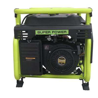 Green Power 12000/9500-Watt Electric Start Gasoline Powered Portable Generator w/460cc 16HP LCT Engine, Lithium Battery