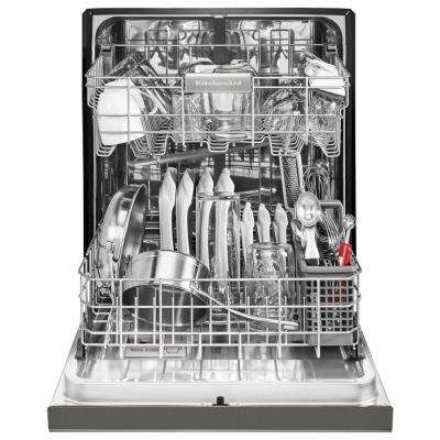 Front Control Built-in Tall Tub Dishwasher in PrintShield Stainless with ProWash, 46 dBA