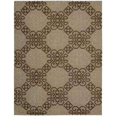 Ambrose Almond 9 ft. 9 in. x 13 ft. 9 in. Area Rug
