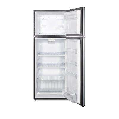 10.3 cu. ft. Frost Free Top Freezer Refrigerator In Stainless Steel, ENERGY STAR