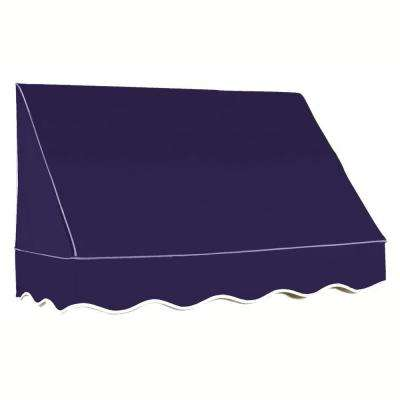 25 ft. San Francisco Window/Entry Awning (44 in. H x 36 in. D) in Navy