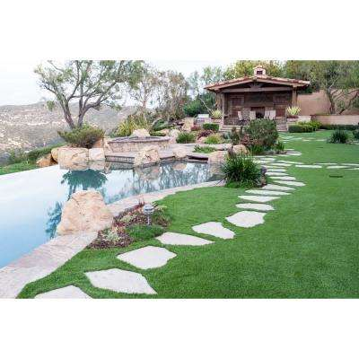 FESCUE MULTIPURPOSE Artificial Grass Synthetic Lawn Turf for Outdoor Landscape 12 ft. x Custom Length