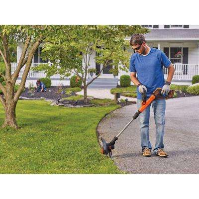 12 in. 20-Volt MAX Lithium-Ion Cordless 2-in-1 String Grass Trimmer/Lawn Edger w (1) 2.5Ah Battery and Charger