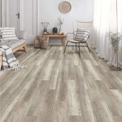 Botanicals Country Oak Natural 7.1 in. W x 48 in. L Luxury Click-Lock Vinyl Plank Flooring (28.42 sq. ft./case)