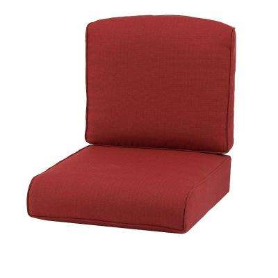 Cedar Island Chili Replacement Outdoor Swivel Lounge Chair Cushion