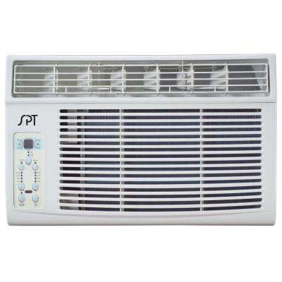 8,000 BTU 115V Window Air Conditioner with Remote Control