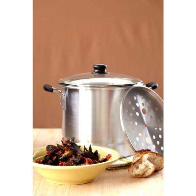 20 Qt. Steamer with Glass Lid