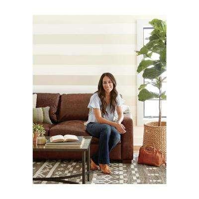 60.75 sq.ft. Canvas Stripe Wallpaper