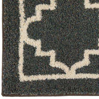 Winslow Dark Slate 2 ft. x 8 ft. Indoor Runner Rug
