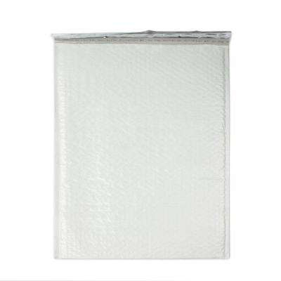 Pratt Retail Specialties 14.25 inch x 19.25 inch White Poly Bubble Mailers with Adhesive Easy Close Strip 50/Case