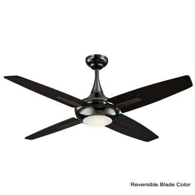 Bocca 52 in. LED Indoor Gun Metal Ceiling Fan