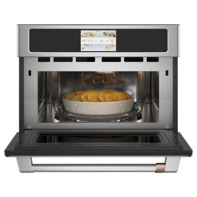 1.7 cu. Ft. Built-In Convection Microwave in Stainless Steel
