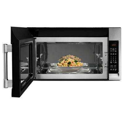 30 in. W 2.0 cu. ft Over the Range Microwave Hood in Fingerprint Resistant Stainless Steel