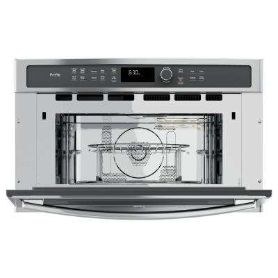 Electric Convection Wall Oven With Built In Microwave Stainless Steel