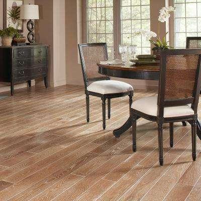 Oak Charleston Sand Wire Brush 3/8 in. T x 5 in. W x Random Length Engineered Hardwood Flooring (24.5 sq. ft. / case)