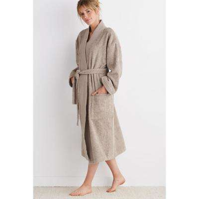 Organic Terry Cotton Bath Robe
