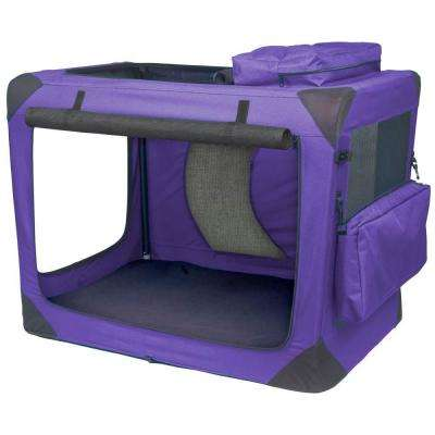 Generation II 29.5 in. x 22 in. x 24 in. Deluxe Portable Soft Crate