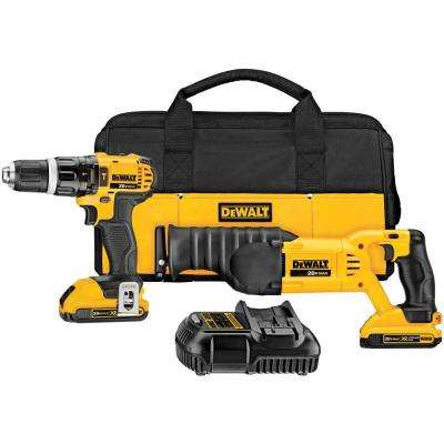20-Volt Lithium-Ion Cordless Combo Kit (2-Tool)