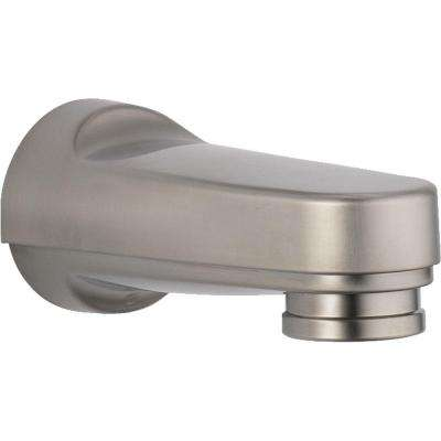 Innovations Pull-Down Diverter Tub Spout in Stainless