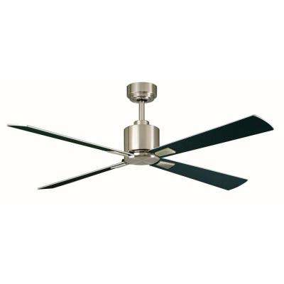 Intensity 52 in. Indoor Brushed Nickel Ceiling Fan with Remote Control