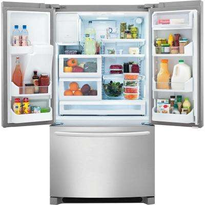 27.8 cu. ft. French Door Refrigerator in Smudge-Proof Stainless Steel