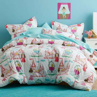 Pretty Princess 200-Thread Count Cotton Percale Comforter