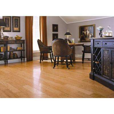 American Cherry Natural 3/8 in. T x 4-1/4 in. W x Random Length Engineered Click Hardwood Flooring (20 sq. ft. / case)