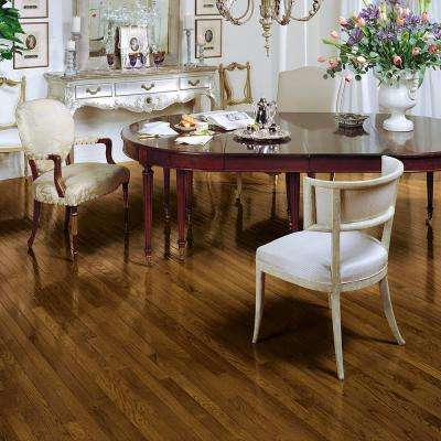 Bayport Oak Saddle 3/4 in. Thick x 2-1/4 in. Wide x Varying Length Solid Hardwood Flooring (20 sq. ft. / case)